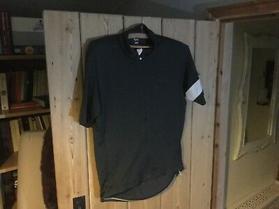 Rapha - mens classic cycling jersey in grey size L