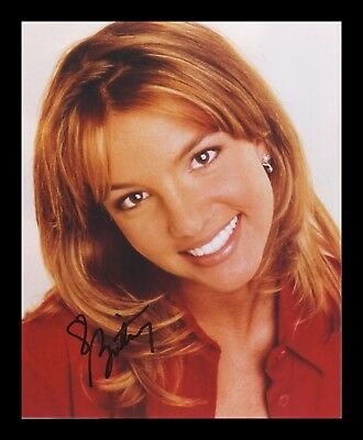 Britney Spears Autographed Signed & Framed Pp Poster Photo 6