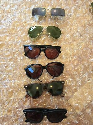Vintage Ray Ban Bausch and Lomb Frames For Parts Or Repair