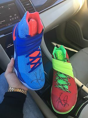 AUTOGRAPHED Nike Kyrie 2 What The Kyrie Custom 1 Of 1