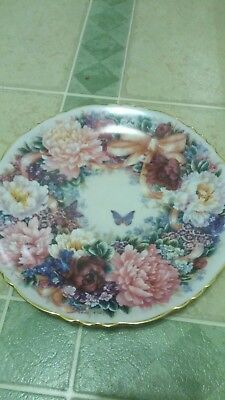 Bradford Exchange CIRCLE OF LOVE Lena Liu Collector Plate