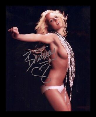 Britney Spears Autographed Signed & Framed Pp Poster Photo 21