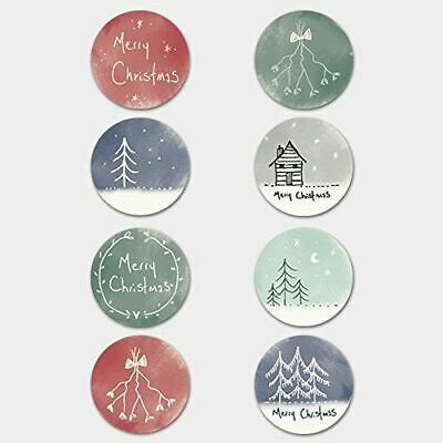 East of India Christmas hand drawn stickers Single Sheet 40 Stickers Xmas Craft