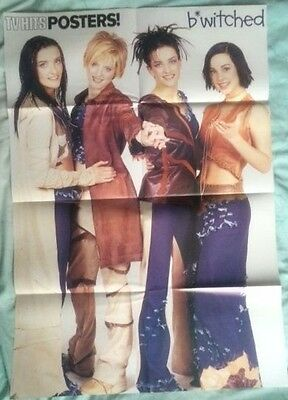 B*WITCHED Original Vintage TV Hits Posters! Magazine Poster