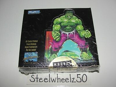 1992 Marvel Masterpieces Trading Card Factory Sealed Box NEW Skybox Comics Jusko