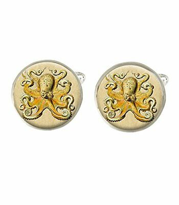 Octopus Design Cufflinks Ideal Birthday Fathers Day Gift C685