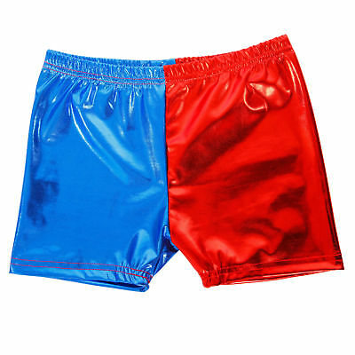 Cosplay Harley Quinn Shorts Suicide Squad Shiny Women Halloween Costume Pants