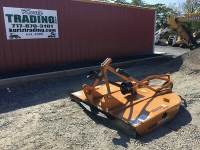 """72"""" 3PT Woods Brush Bull Mower for Compact Tractor!"""