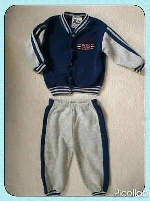 All Star Sport Fall Sweater w/matching Sweatpants Outfit Boy's Size 24 months