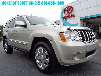 2008 Jeep Grand Cherokee 2008 Limited 4.7L V8 4WD Nav Moonroof 2008 Jeep Grand Cherokee Limited V8 4x4 Navigation Camera Sunroof Leather Carfax