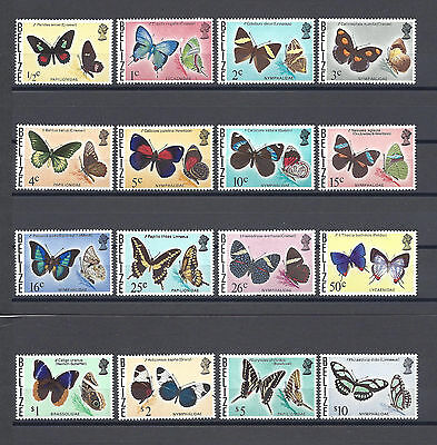 BELIZE 1974-6 SG 380/95 Mint Cat £48