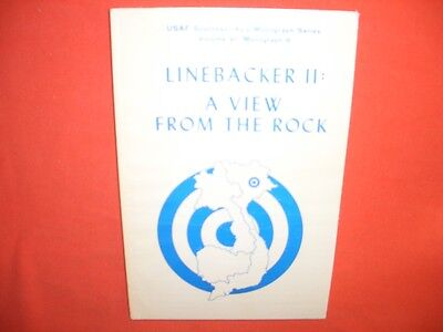 Linebacker II: A VIEW FROM THE ROCK (Vietnam) USAF Southeast Asia Monograph 8