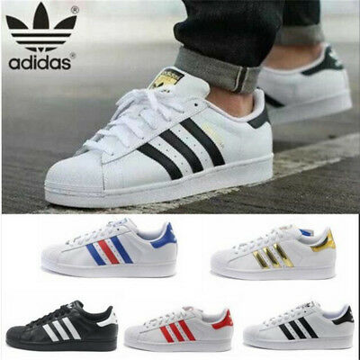 Chaussures Baskets Adidas Superstar Originals Homme Femme Sneakers T36-44