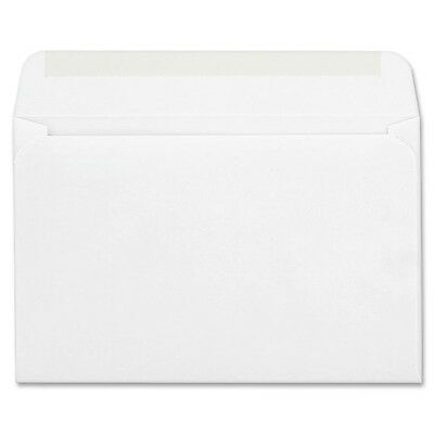 "Quality Park Card Envelopes Gum Seal 24lb 5-3/4""x8-3/4"" 100/BX WE CO298"