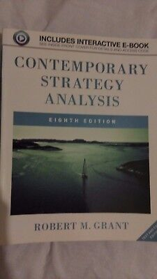 Contemporary Strategy Analysis by Robert M. Grant - 8th Edition