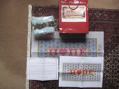 "tapestry kit ""Home tapestry"" from the Historical Sampler Company"