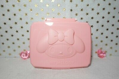 Sanrio My Melody Wet Tissue Case Wipe Sheet Box Free Standard Shipping NEW