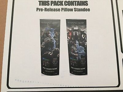 Shadow war standee Double Sided *NEW*