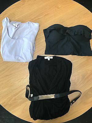 Ripe Maternity Bundle, including dress, bathers and top - size small