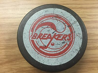 1982 Seattle Breakers Game used puck WHL Rare