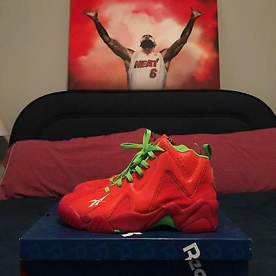 "Reebok Kamikaze II 2 Mid x Packer ""Chili Pepper"" SZ 11 (VNDS)"