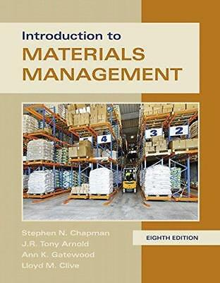 Introduction to Materials Management 8th Int'l Edition
