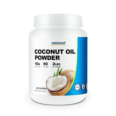 Nutricost Coconut Oil Powder (2LBS) - High Quality, Non-GMO, Gluten Free