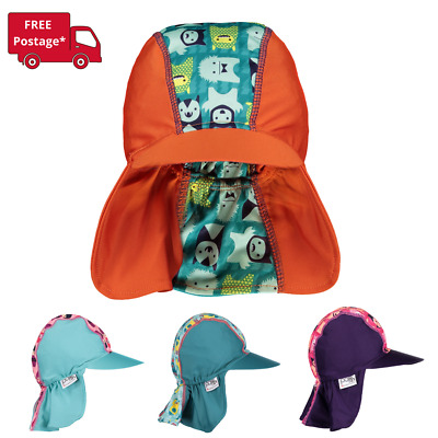 Close Pop-in Baby and Toddler Legionnaire Sun Hat