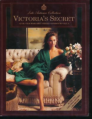 VICTORIA'S SECRET 1990 Late Autumn Collection Lingerie & Sexy Apparel Catalog VF