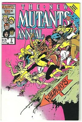 New Mutants Annual #2 Marvel Comics 1986 1St App Psylocke Nm