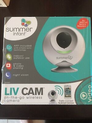Summer Infant Liv Cam On-the-Go Direct-to-Phone or Tablet Baby Monitor