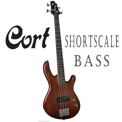 Cort Smaller Body Action 4 String Electric Bass Guitar. Short-Scale 705Ws