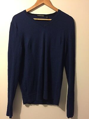 Men's 100% Wool Country Road Jumper Small