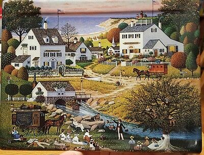 CHARLES WYSOCKI'S COLORS OF THE SEASONS HOUND OF BASKERVILLES Bradford PLATE