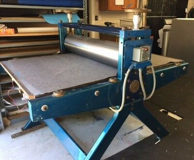 Griffin Etching press
