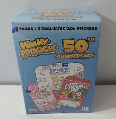 Topps Wacky Packages 50th Anniversary Blaster Box