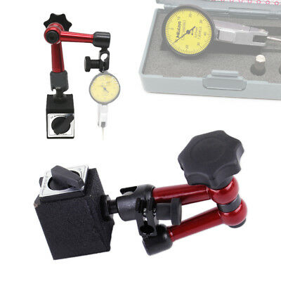 Flexible Magnetic Base Holder Stand Dial Test Indicator Gauge Scale Precision
