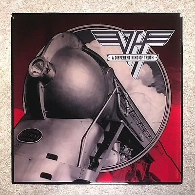 VAN HALEN A Different Kind Of Truth Coaster Record Cover Ceramic Tile