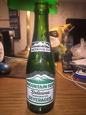 Mt Jewett Pa Mountain Top Beverages 7 Oz Acl Soda Pop Bottle