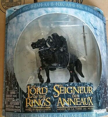 Dark Rider LOTR NIB Warriors Battle Beasts Scale Figures Lord of the Rings