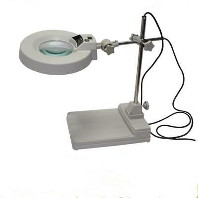 LB500A5 Working Lighting 5 Times The Desktop Magnifying Glass With Lights