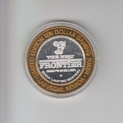 Frontier (New) Casino .999 Fine Silver Limited Edition Gaming Token