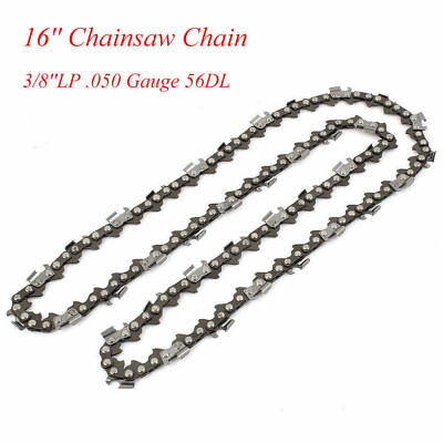 Chainsaw Saw Chain Blade Replacement For 16'' 57 Links 3/8''LP .050 Gauge 56DL