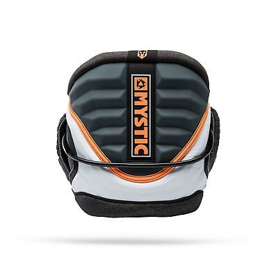 Mystic Warrior V Kitesurf Harness 2018 - Orange / Gris