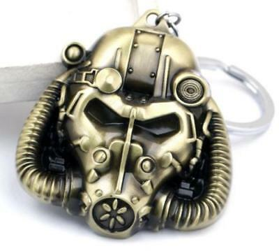 PC XBOX PS4 Game Fallout 4 Pip Boy Bronze Keychain Keyring Pendant Pip-Boy ^