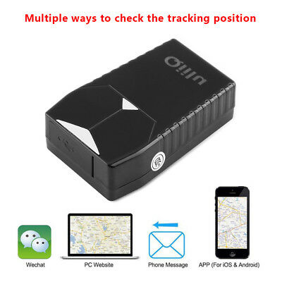 Waterproof Magnet Real-Time GPS LBS GSM GPRS Tracking Voice Text Global Locator
