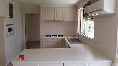 Clean Complete Custom Kitchen with LLVE 90cm Rangehood, Dishlex Dishwasher and A