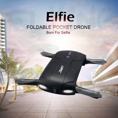 Foldable 6-Axis WIFI 720P FPV Phone Contro Selfie Camera Drone Hover Quadcopter