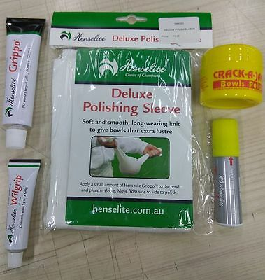 *NEW Bowls Gift Pack 2 - all your polishing/cleaning needs*