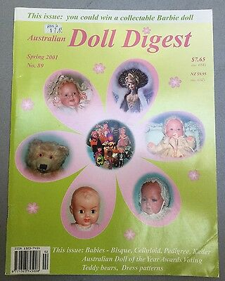 Australian Doll Digest No 89 Spring 2001